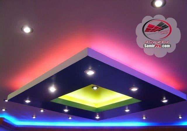 مدل سقف کناف پذیرایی