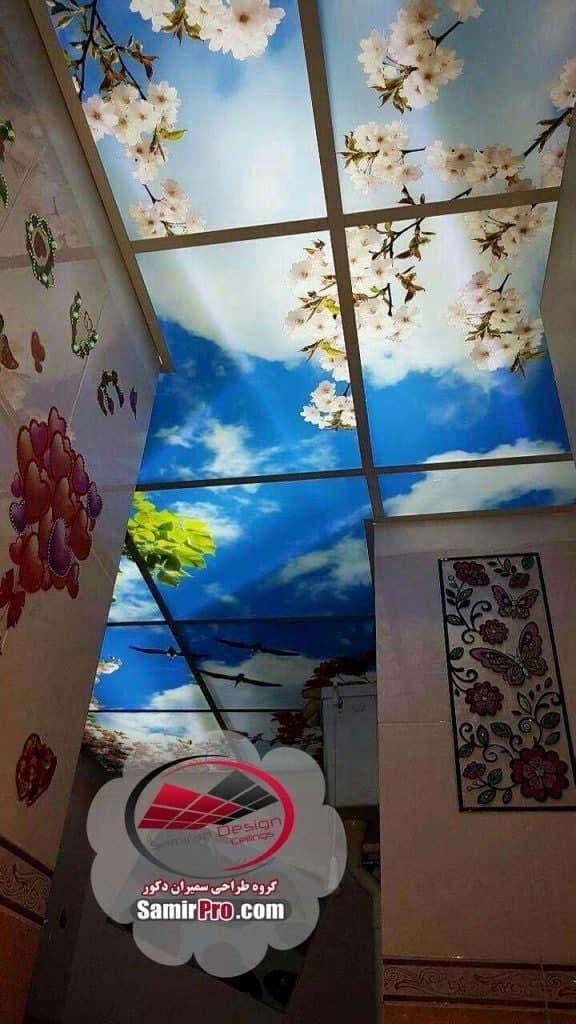 سقف سرویس بهداشتی