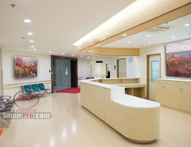 سقف کاذب مطب دندانپزشکی