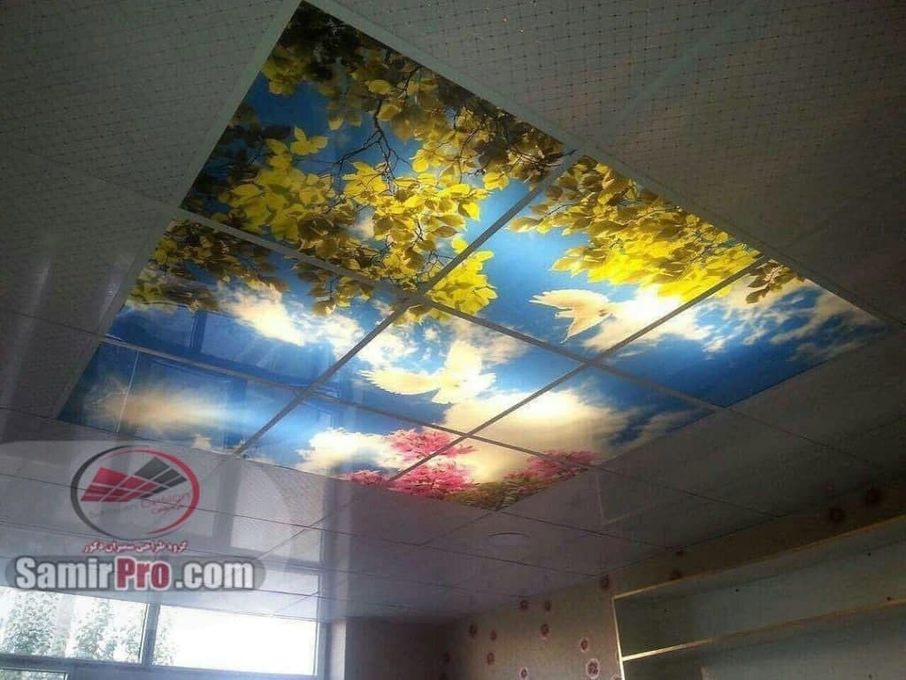 سقف طلقی  و پی وی سی حمام