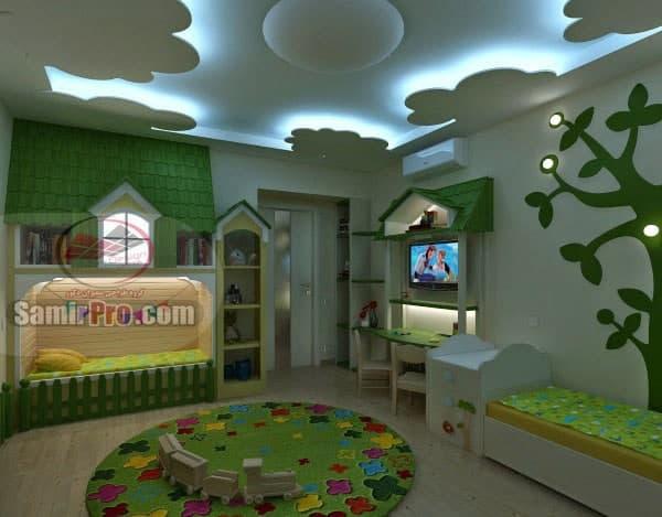 کناف اتاق خواب کودک