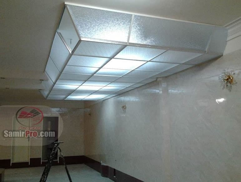 سقف کاذب پلکسی گلس | سقف طلقی