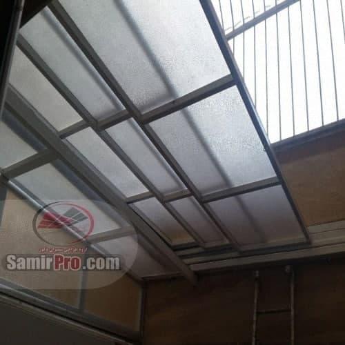 سقف طلقی گلخانه