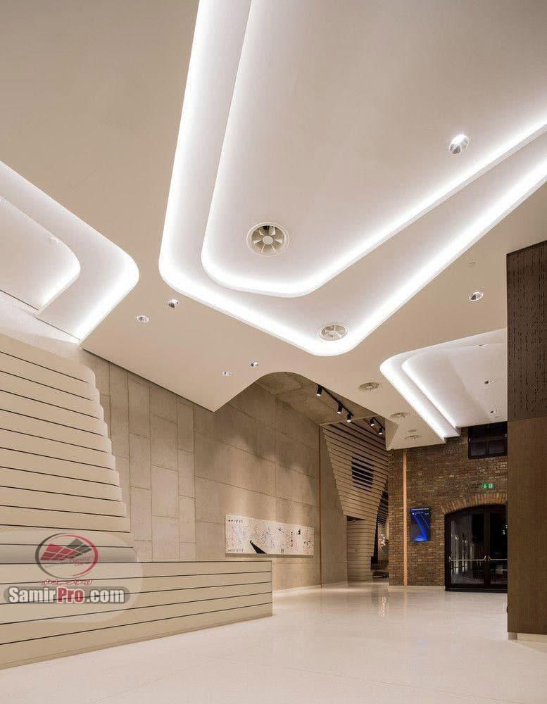 دکور سقف کاذب برای فروشگاه های بزرگ