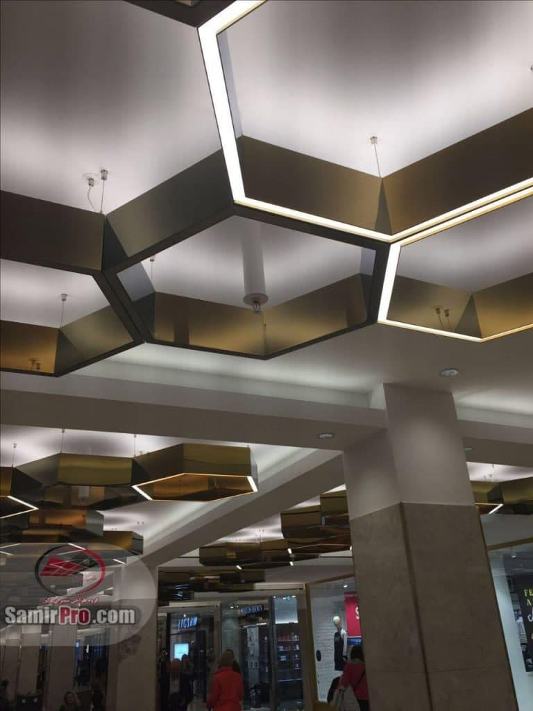 دکوراتیو سقف کناف | قیمت کناف