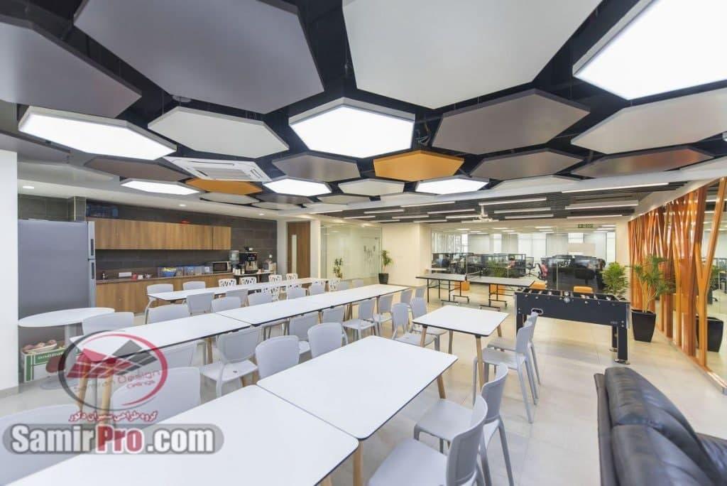 سقف کاذب برای رستوران
