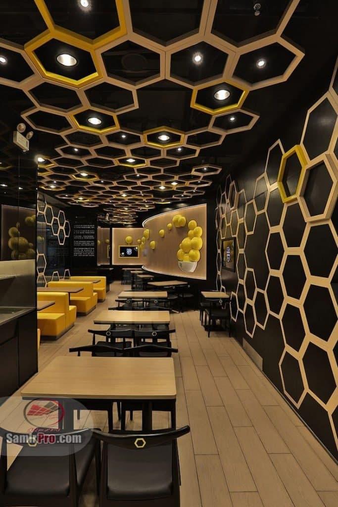 سقف کاذب زنبوری