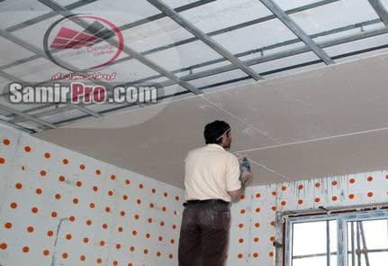 نصب انواع سقف کناف