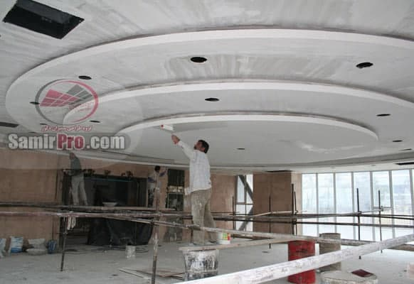 نصب سقف کناف