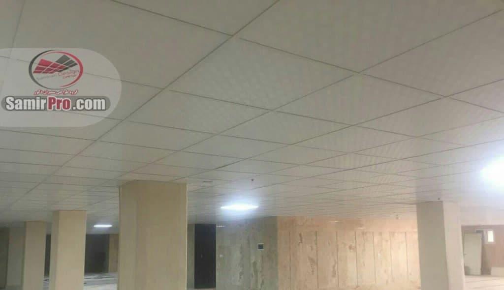 پروژه اجرایی سقف کاذب کناف