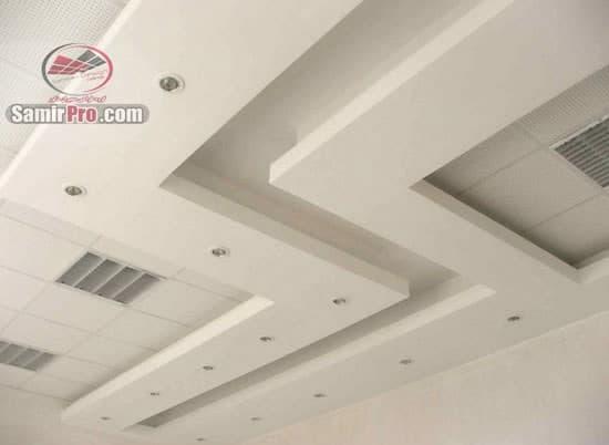 اجرای باکس سقف کاذب کناف