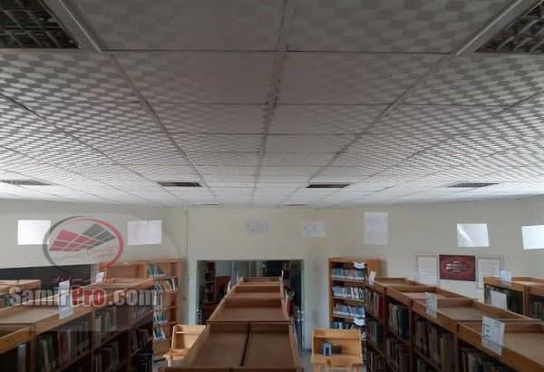 سقف کاذب کناف کتابخانه
