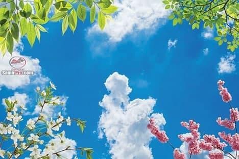 سقف کاذب آسمان مجازی طرح آسمان