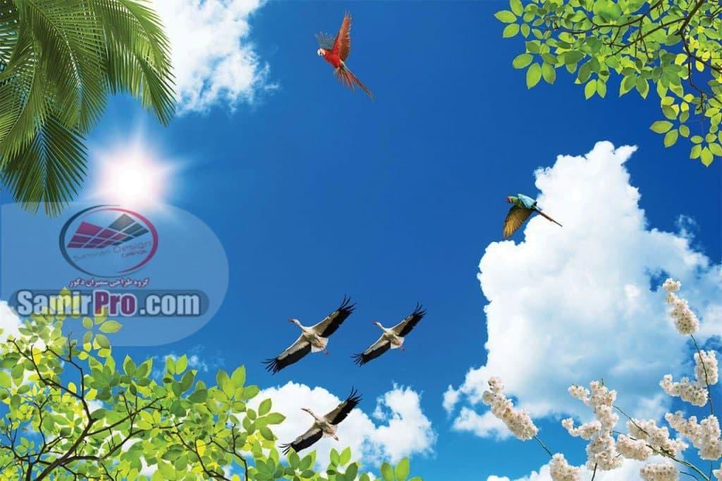 آسمان مجازی | سقف کشسان