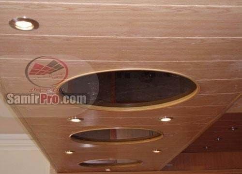 مدل سقف پی وی سی