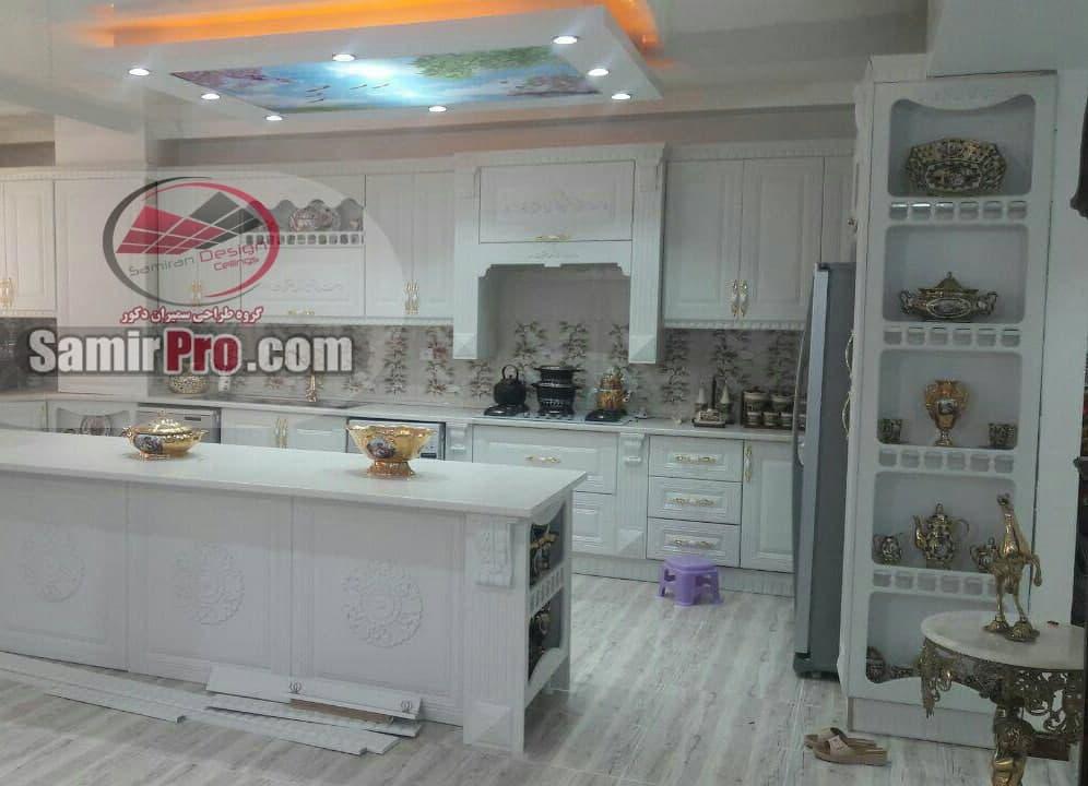 طرح کناف آشپزخانه