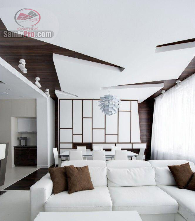 طرح سقف کناف سالن