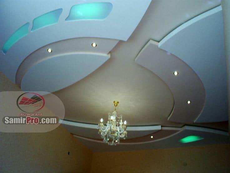 مدل گرد کناف سقف