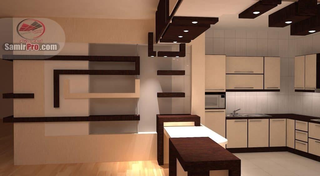 کناف ساده آشپزخانه