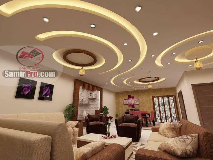 اجرای کناف سقف پذیرایی