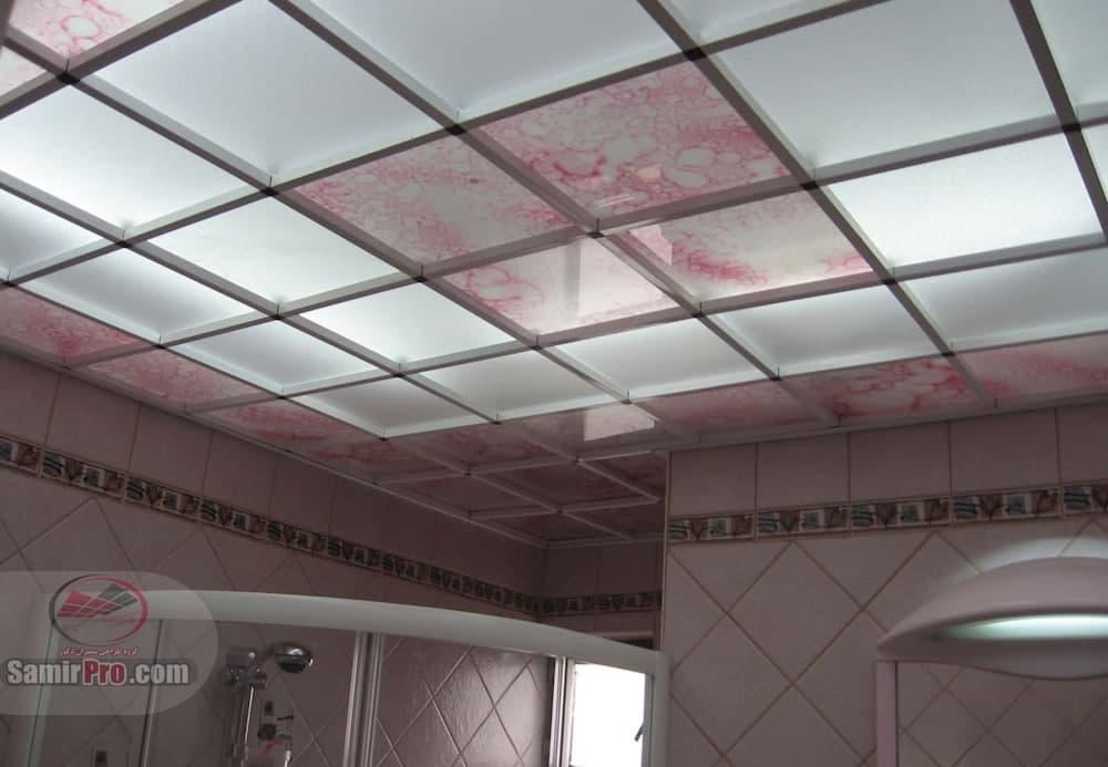 اجرای سقف کاذب حمام