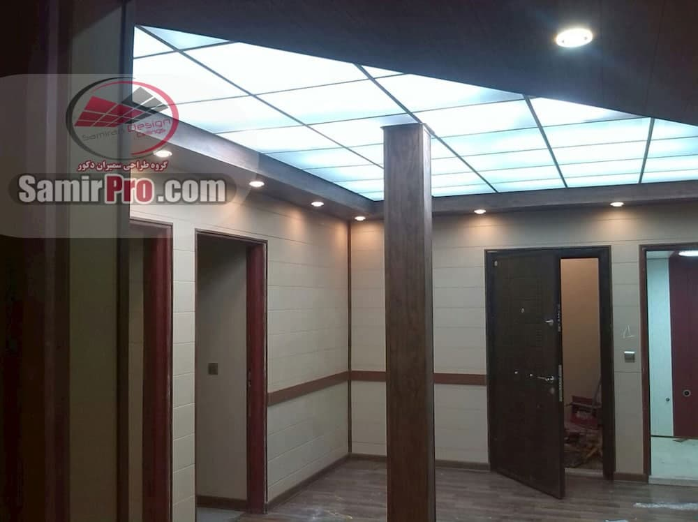 سقف طلقی سرویس بهداشتی