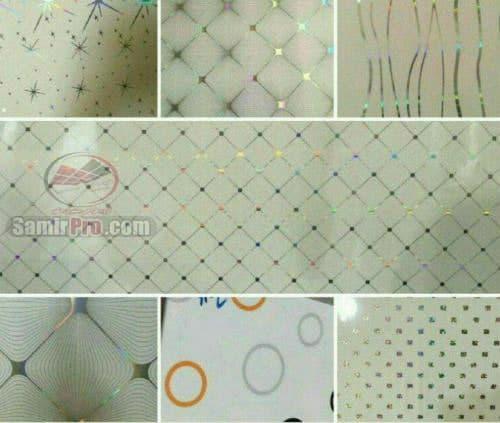طرح های سقف pvc