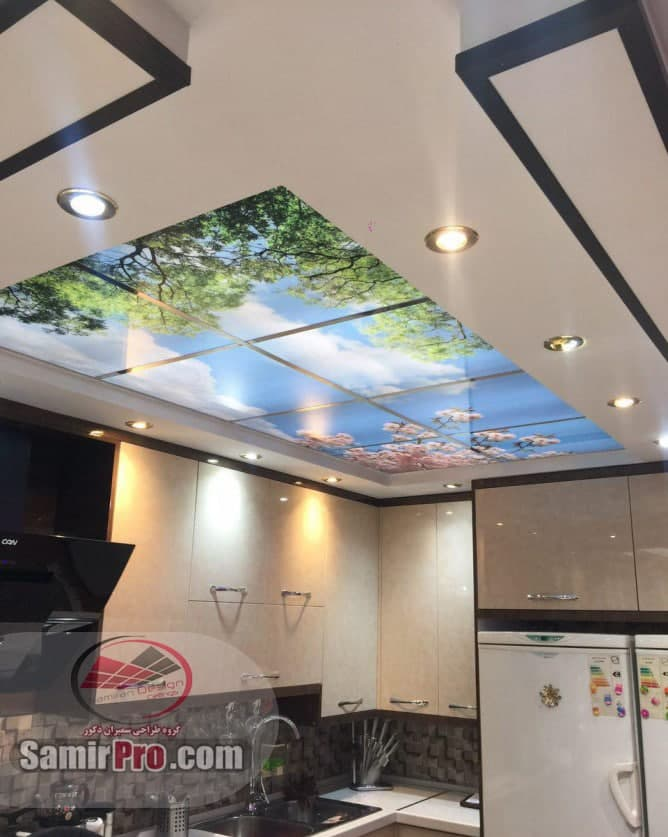 قیمت سقف مجازی آشپزخانه