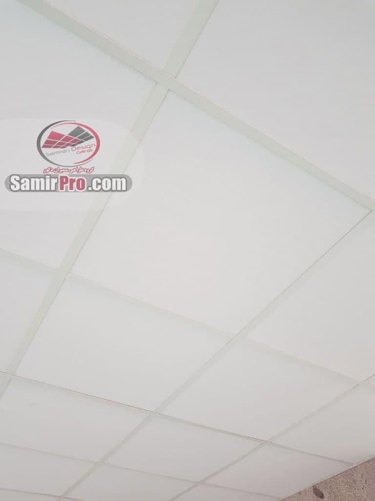 اجرای سقف گچ برگ 60در60