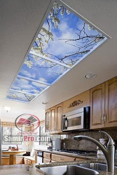 مدل آسمان مجازی آشپزخانه