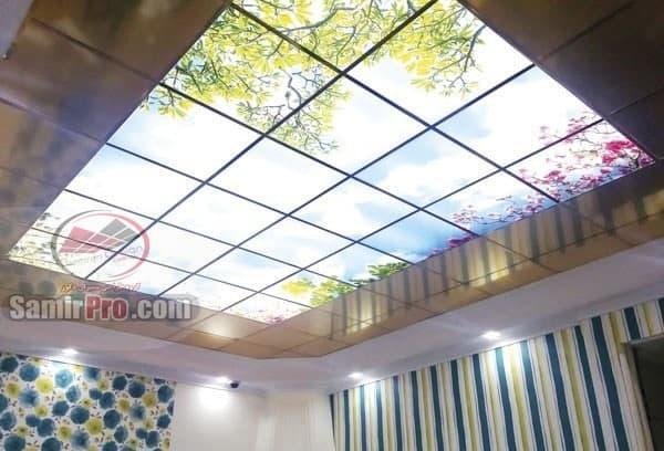 سقف آسمان مجازی آشپزخانه