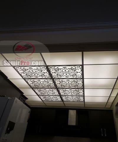سقف کاذب معرق pvc