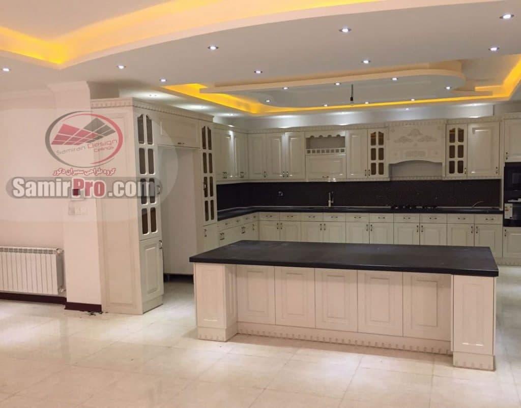 طرح سقف آشپزخانه جدید