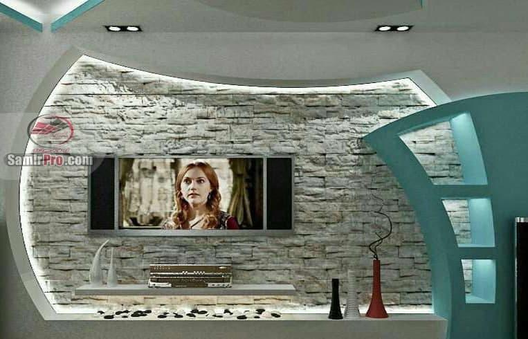 کناف تلویزیون دیواری