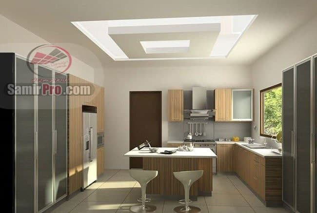 عکس مدل سقف آشپزخانه