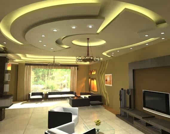 مدل های سقف کاذب کناف