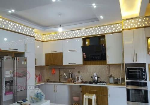 معرق سقف آشپزخانه