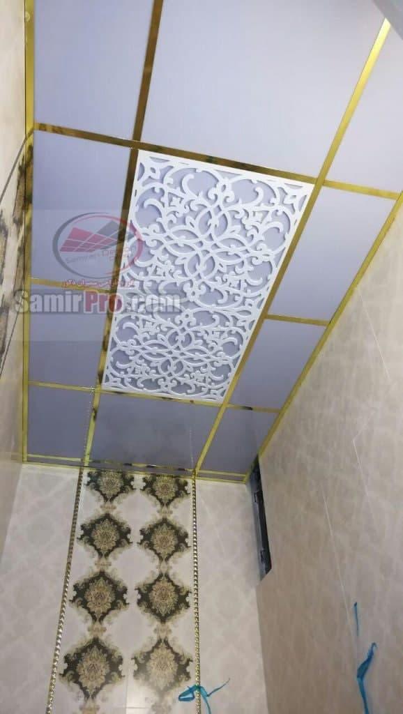 سرویس و حمام با سقف طلقی