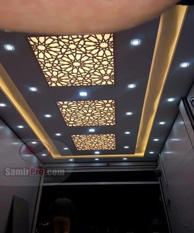 نورپردازی سقف cnc معرق