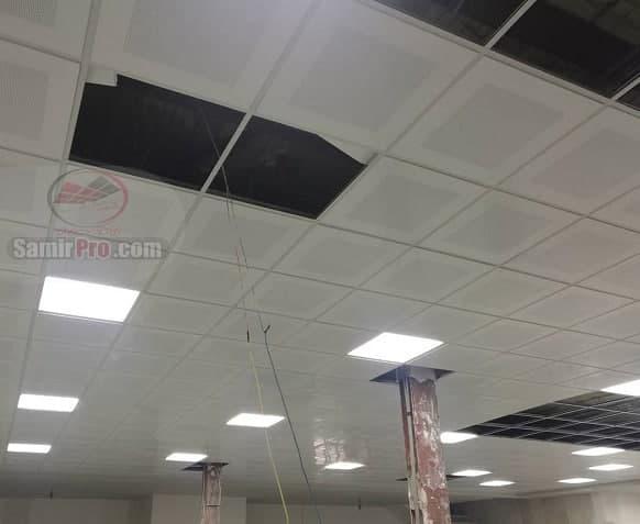 سقف کاذب مشبک