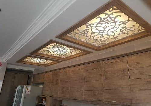 مدل سقف کاذب معرق آشپزخانه