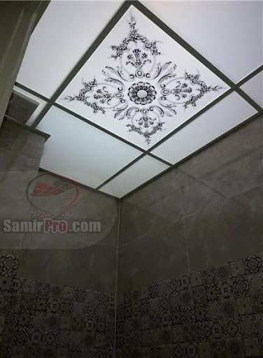اجرای سقف کاذب دستشویی