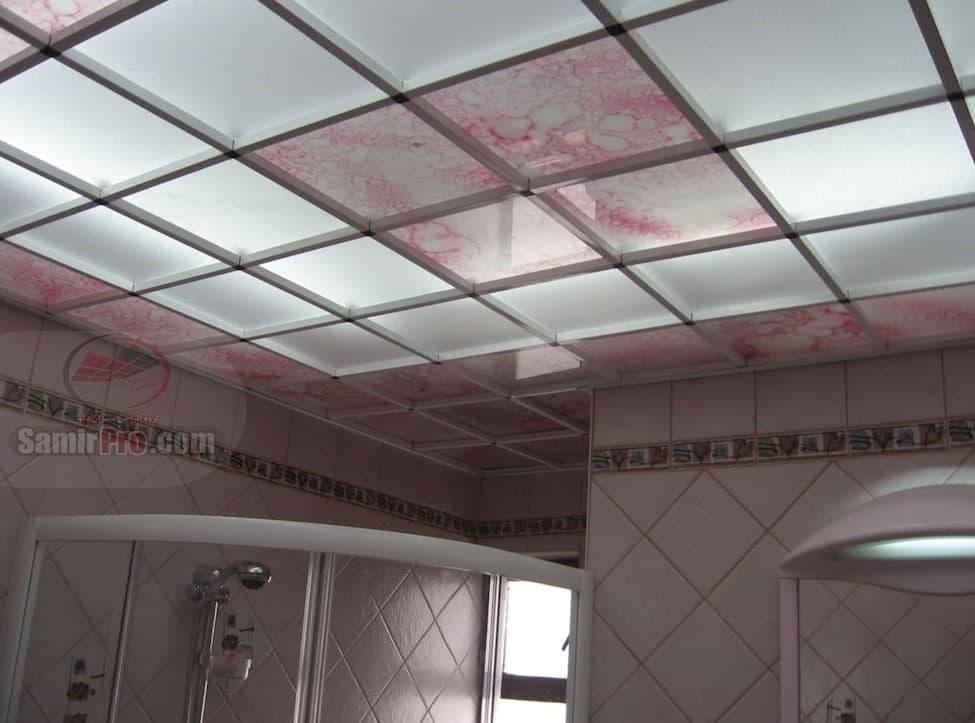 سقف کاذب حمام مدرن