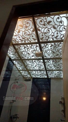 مدل سقف کاذب سرویس و حمام
