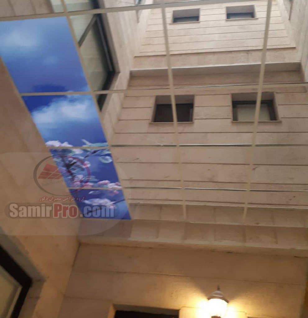 سقف کاذب پلکسی چاپی