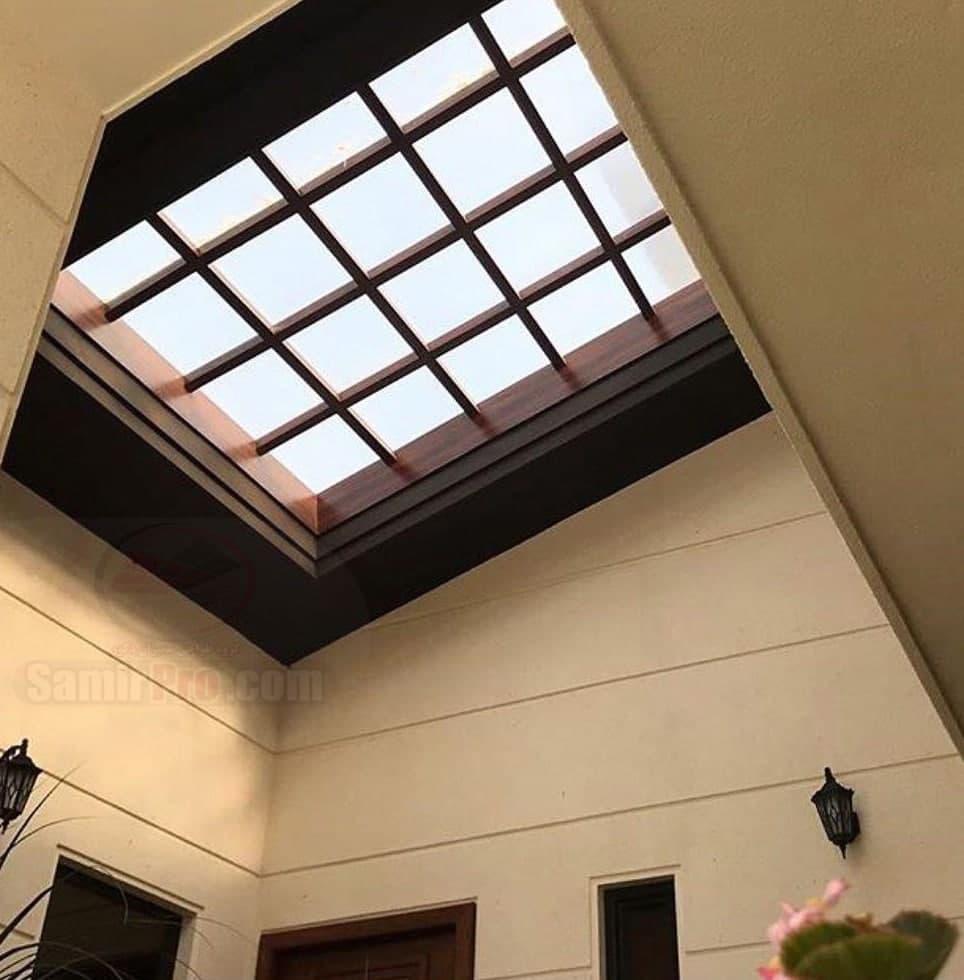 اجرای سقف پاسیو