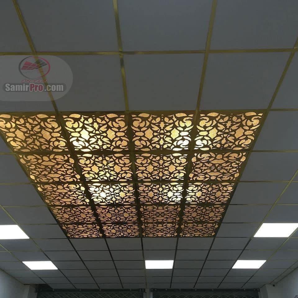 اجرای سقف کاذب pvc فروشگاه