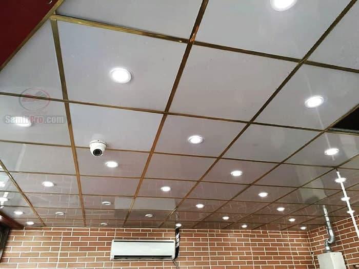 نمونه سقف پی وی سی