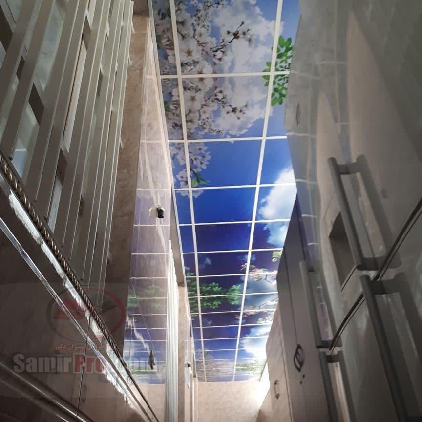 قیمت اجرای سقف مجازی