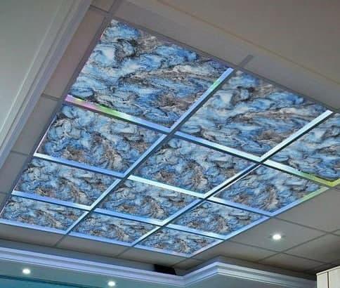 سقف کاذب آشپزخانه طرح دار